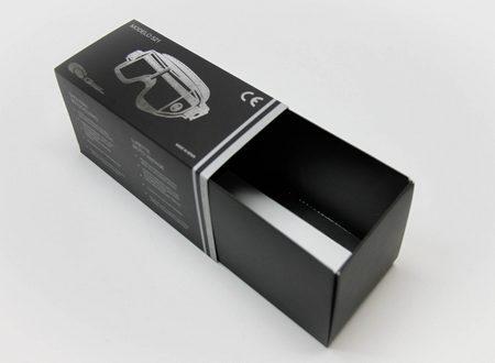 Cajas para Gafas de Sol de cartón. Packaging: Cajitas y Estuches de cartón, caja corredera