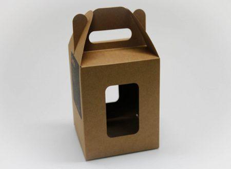 Cajas de cartón. Packaging: Cajitas y Estuches de cartón, caja con asa