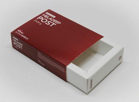 Caja cartón. Packaging: Cajas de cartón. Estuches de cartón. corredera