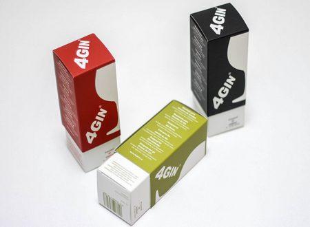 Cajas de cartón. Packaging: Cajitas de cartón, caja deslizante