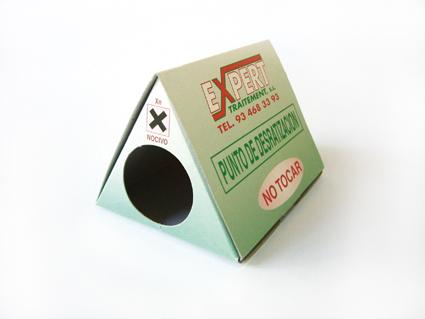 Cajas CONTROL PLAGAS
