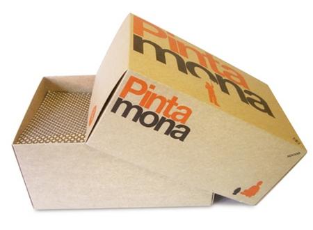 Cajas ventas internet, de cartón.