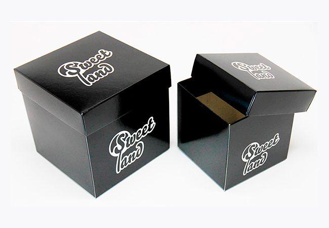 Cajas de carton con tapa cartón. Packaging: Cajas de cartón. Estuches de cartón. Caja más