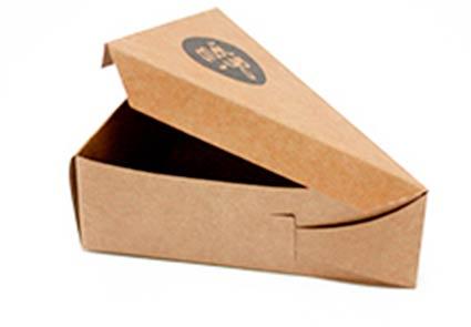 Cajas cartón tipo quesitos