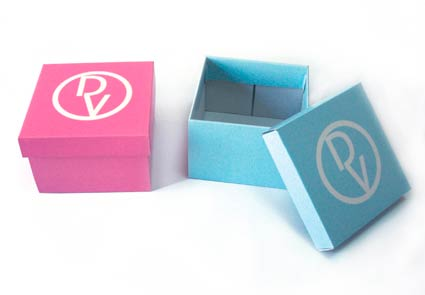 Cajas de cartón para bisutería