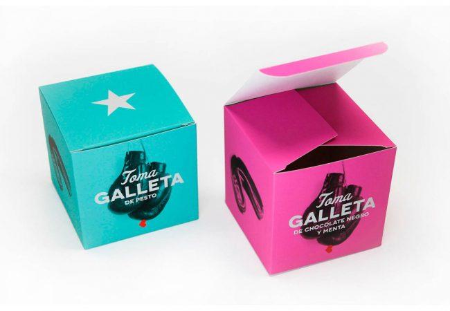 Cajas de cartón para galletas