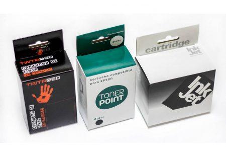 Cajas TONER cartuchos de impresión