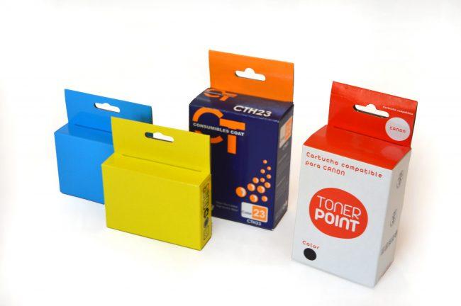 Cajas para toner. Cartuchos de impresión -s03 cajas carton