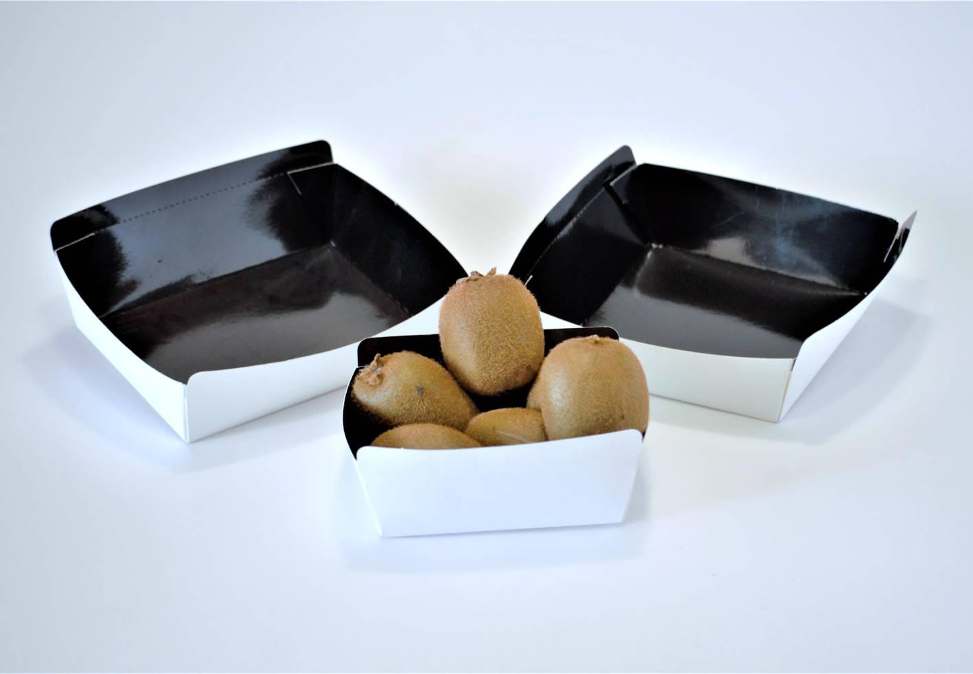 Bandejas y cajas de cartón para frutas