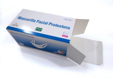 Cajas para mascarillas personalizadas