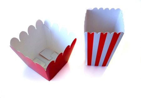 Cajas de cartón para palomitas