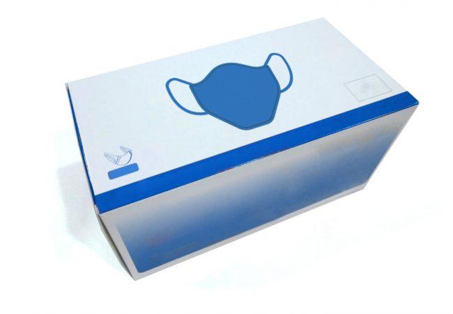 Cajas de cartón para mascarillas quirúrgicas